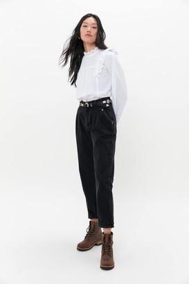 One Teaspoon 80s High-Waisted Jean Double Black
