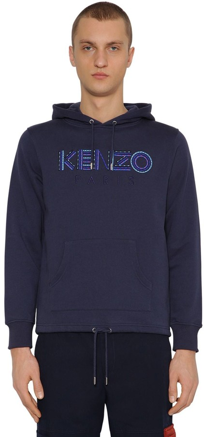 edaf6428 Kenzo Blue Men's Sweatshirts - ShopStyle