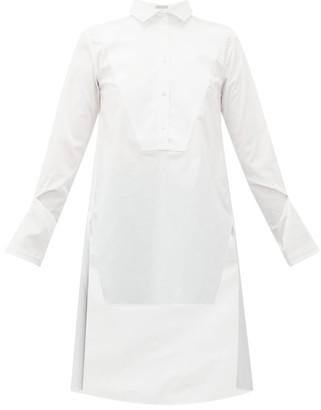 Palmer Harding Palmer//harding - Kast Bib-front Cotton Shirt - Womens - White