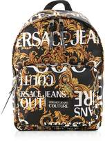 Versace Jeans Couture Barocco Printed Nylon Men's Backpack