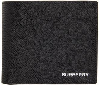 Burberry Black International Bifold Coin Wallet