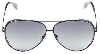 Moschino 61MM Aviator Sunglasses
