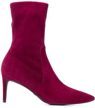 Stuart Weitzman Wren suede ankle boots
