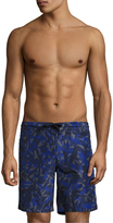Z Zegna Printed Swim Trunks