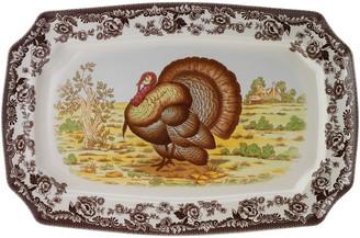 Spode Woodland Turkey Rectangular Platter