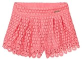 Mayoral Coral Lace Shorts
