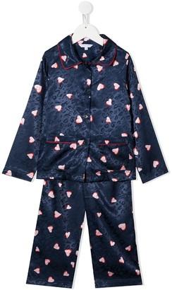 The Marc Jacobs Kids Heart-Print Pajama Set