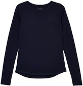 Smalls Merino Women's 100% Traceable Superfine Merino Top In French Navy