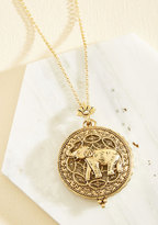Ana Accessories Inc Intrigue Achieved Necklace in Elephant