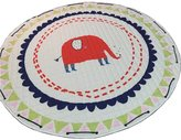 Menu Life Soft Cotton Baby Play Mat Activity Gym Large Padded Playmat Crawling Pad, round Red Elephant 150cm