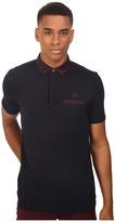 Fred Perry Oxford Trim Collar Pique Shirt