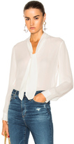 L'Agence Gisele Blouse in White.