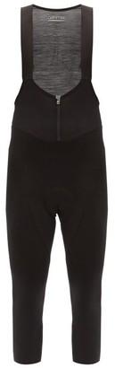 Ashmei - Cropped Wool-blend Technical-jersey Bib Leggings - Black