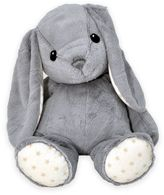 Cloud b Hugginz Large Bunny Plush in Grey