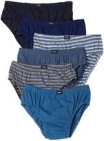 Hanes 7-Pack Classic Sport Brief Underwear, Dark