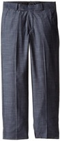 Calvin Klein Kids Cross Hatch Slub Pants (Big Kids)