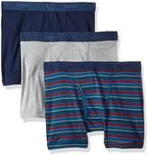 Lucky Brand Men's Standard 3 Pack Cotton Boxer Briefs