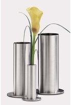 Zack 22971 VENTO vase h.9.65 inch Stainless Steel