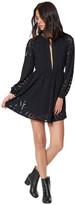 Mara Hoffman Burnout Keyhole Mini Dress