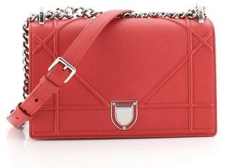 Christian Dior Diorama Flap Bag Calfskin Small