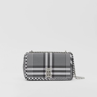Burberry Small Check Nylon Lola Bag