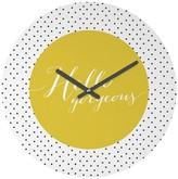 DENY Designs Decorative Clock