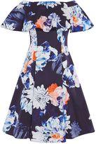 Coast Liz Printed Bardot Dress
