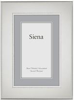 """Bloomingdale's Siena Silverplate Wide Flat Bead Frame, 4 x 6"""""""