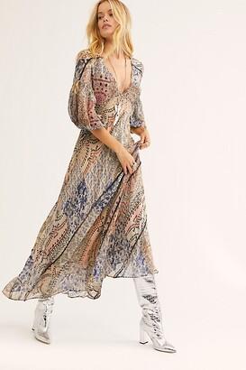 Free People Moroccan Dreams Maxi Dress