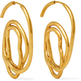 Ellery Memphis Gold-plated Earrings - one size