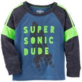 Osh Kosh Super Sonic Nep Yarn Tee