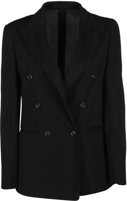 Lardini Black Wool Blazer