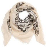 David & Young Women's Paisley Print Scarf