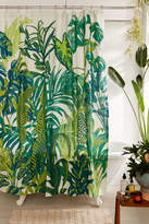 Urban Outfitters Dreamy Jungle Shower Curtain