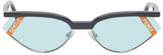 Fendi Grey Gentle Monster Edition Cat-Eye Sunglasses