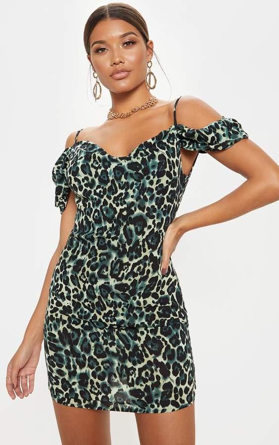 3d173935679f Leopard Strappy Print Dress - ShopStyle UK