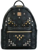 MCM studded backpack - unisex - PVC - One Size