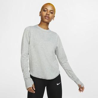 Nike Women's Long-Sleeve Running Top Sphere Element