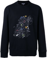 Lanvin printed sweatshirt - men - Cotton/Spandex/Elastane - S
