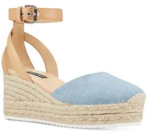 Nine West Audra Platform Espadrille Wedges Women's Shoes