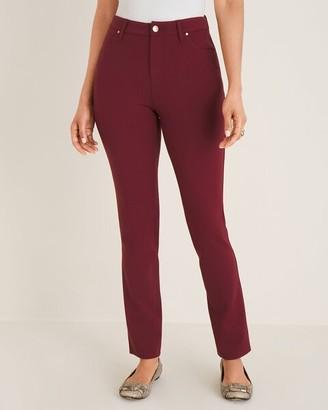 Chico's Ponte 5-Pocket Slim Pants