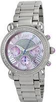 JBW Victory Womens 1/6 CT. T.W. Diamond Stainless Steel Bracelet Watch JB-6210-F