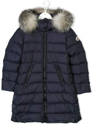 Moncler appliqué padded coat