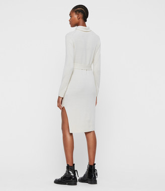 AllSaints Roza Cashmere Blend Jumper Dress
