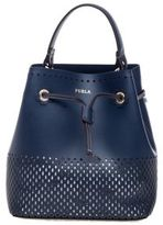 Furla Stacy Bucket Bag Blue
