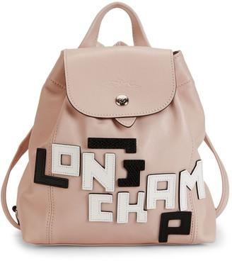 Longchamp Le Pliage Leather Backpack