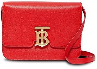 Burberry Small TB Leather Crossbody Bag