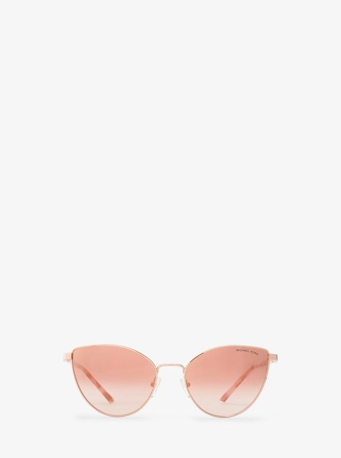 e0fc8218d553 Michael Kors Rose Gold Sunglasses - ShopStyle