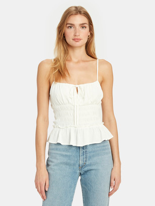 ASTR the Label Fiona Smocked Tank Top