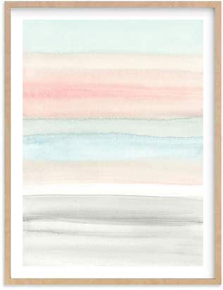 Pottery Barn Kids Summer Horizon Wall Art by Minted®, 16x20, Black